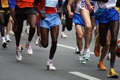 Maratona Imagens de Stock Royalty Free
