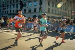 Maratona anual de New York City fotografia de stock