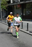 Maratona 2014 de Belgrado imagem de stock royalty free