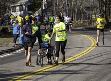 Maratona 2014 de Boston Imagem de Stock