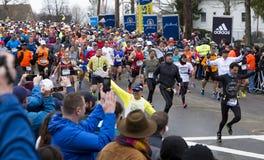 Maratona 2015 de Boston Imagens de Stock Royalty Free