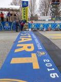 Maratona 2015 de Boston Fotos de Stock
