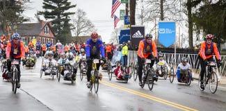 Maratona 2015 de Boston Imagem de Stock