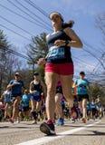 Maratona 2016 de Boston Imagem de Stock