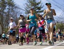 Maratona 2016 de Boston Fotos de Stock