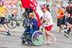 Maratona de Cracovia Imagem de Stock Royalty Free