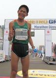 Maratona de Duesseldorf Fotos de Stock Royalty Free