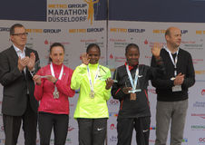 Maratona de Duesseldorf Fotos de Stock