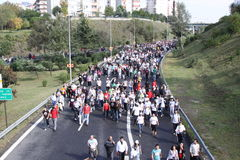 Maratona de Eurasia Fotografia de Stock Royalty Free