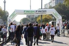 Maratona de Eurasia Imagem de Stock