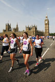 2013, maratona de Ingleses 10km Londres Fotos de Stock