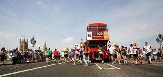 2013, maratona de Ingleses 10km Londres Fotografia de Stock