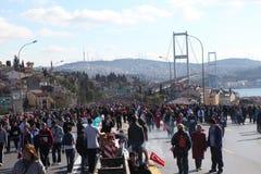 Maratona de Istambul Imagem de Stock