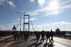 Maratona de Istambul Foto de Stock Royalty Free