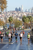 38 Maratona de Istambul Fotografia de Stock