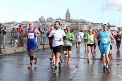 38 Maratona de Istambul Foto de Stock