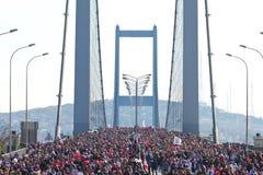 35a maratona de Istambul Eurasia Fotografia de Stock Royalty Free
