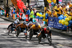 Maratona de Londres foto de stock royalty free