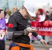 Maratona de Londres do dinheiro do Virgin 24 de abril de 2016 Fotografia de Stock Royalty Free