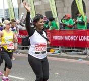 Maratona de Londres do dinheiro do Virgin 24 de abril de 2016 Fotografia de Stock