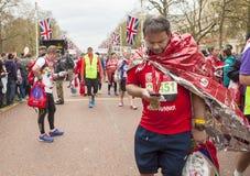 Maratona de Londres do dinheiro do Virgin 24 de abril de 2016 Fotos de Stock Royalty Free