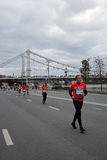 Maratona de Moscou Foto de Stock