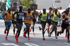 Maratona 2014 de New York City Fotos de Stock