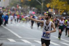Maratona de 2017 NYC Foto de Stock