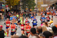 Maratona 2013 de NYC imagens de stock