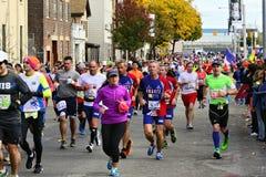 Maratona de 2013 NYC fotos de stock