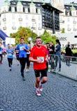 Maratona de Oslo, Noruega Foto de Stock Royalty Free