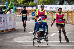 Maratona de Padang Standard Chartered Imagens de Stock Royalty Free