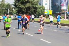 Maratona 2016 de Skopje Fotos de Stock