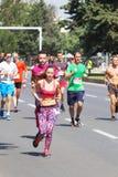 Maratona 2016 de Skopje Imagem de Stock