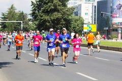 Maratona 2016 de Skopje Fotos de Stock Royalty Free