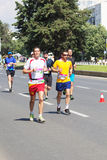 Maratona 2016 de Skopje Imagens de Stock