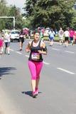 Maratona 2016 de Skopje Fotografia de Stock