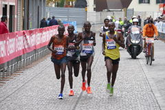 A 3a maratona de Veneza Imagens de Stock Royalty Free
