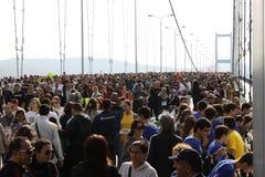 Maratona del Eurasia Immagine Stock