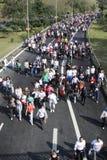 Maratona del Eurasia Fotografia Stock