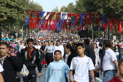 Maratona del Eurasia Fotografia Stock Libera da Diritti