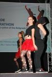 Maratona del latino Fotografia Stock
