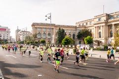 Maratona dell'internazionale di Bucarest Fotografia Stock Libera da Diritti