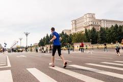 Maratona 2015 dell'internazionale di Bucarest Immagini Stock Libere da Diritti