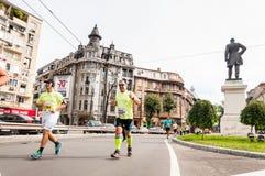 Maratona 2015 dell'internazionale di Bucarest Immagini Stock