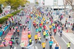 Maratona 2016 della città di Nagoya Fotografia Stock