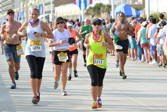 Maratona 2013 della corsa Fotografie Stock Libere da Diritti