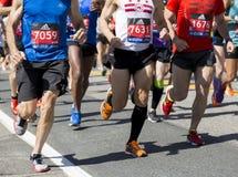 Maratona di Boston Fotografia Stock Libera da Diritti