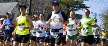 Maratona 2016 di Boston fotografia stock