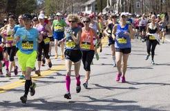 Maratona di Boston Fotografie Stock